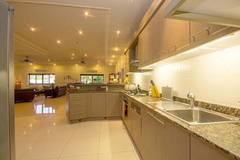 Modern kitchen in Thai house