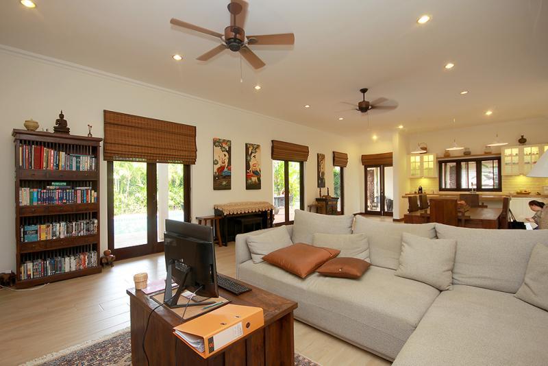 Lounge in luxury villa