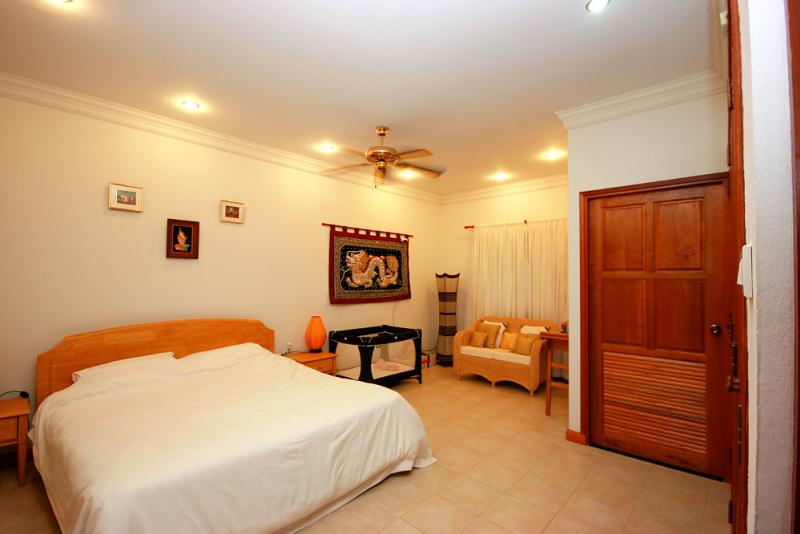 Bedroom at White Lotus house for sale