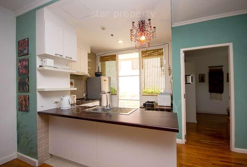 European kitchen 2 bedroom condo for rent