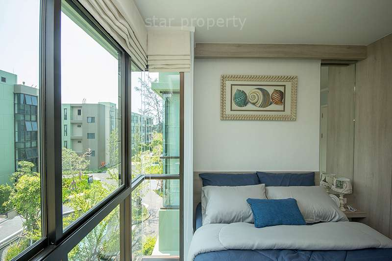 1 bedroom condo garden view Cha am