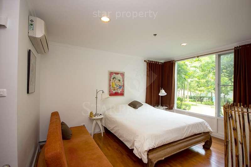 pool view balcony condo for rent Hua Hin