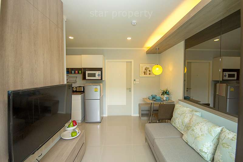 Cha am beach 1 bedroom condo for rent