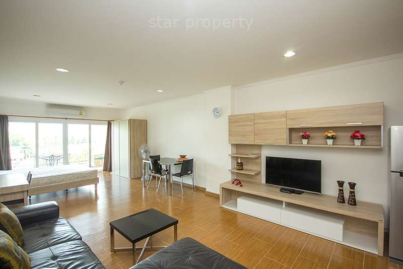 fully furnished large studio condominium