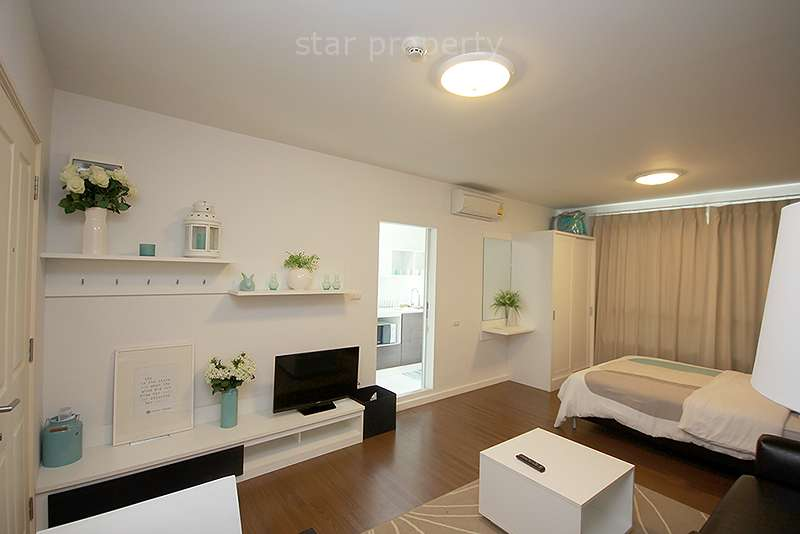Modern Studio Near Beach for rent at Baan Koo Kiang