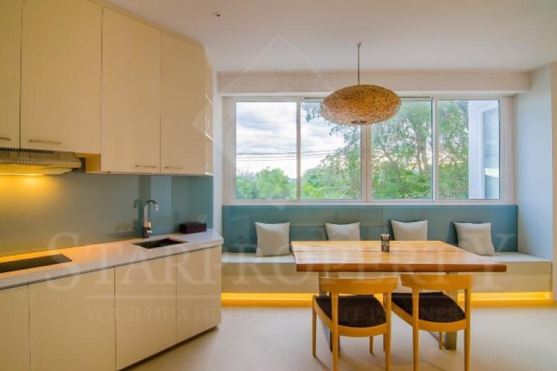Luxury kitchen in beach villa
