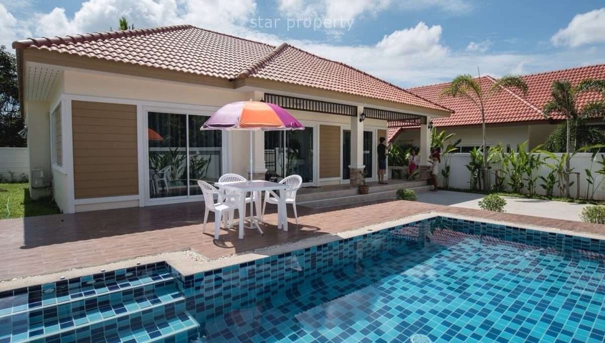 Private Pool Villa for rent at Legacy, Hua Hin Soi 70