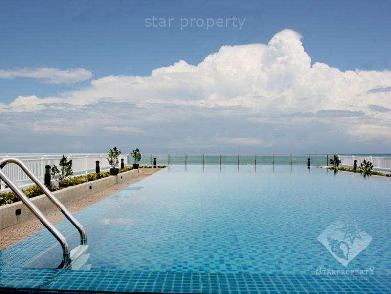 2 bedroom beachfront condo for rent at Baan Suan Rim Sai