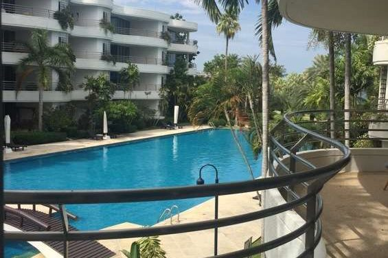 Luxury 2 Bedroom Condo with Pool View for rent at Baan Chaitalay