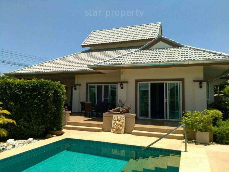 Emerald resort villa for sale in Hua Hin