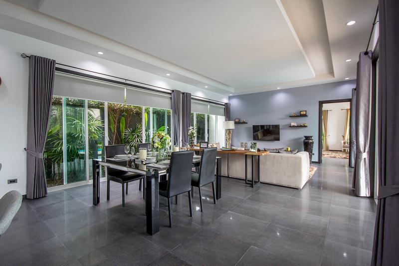 Open plan villa in Thailand