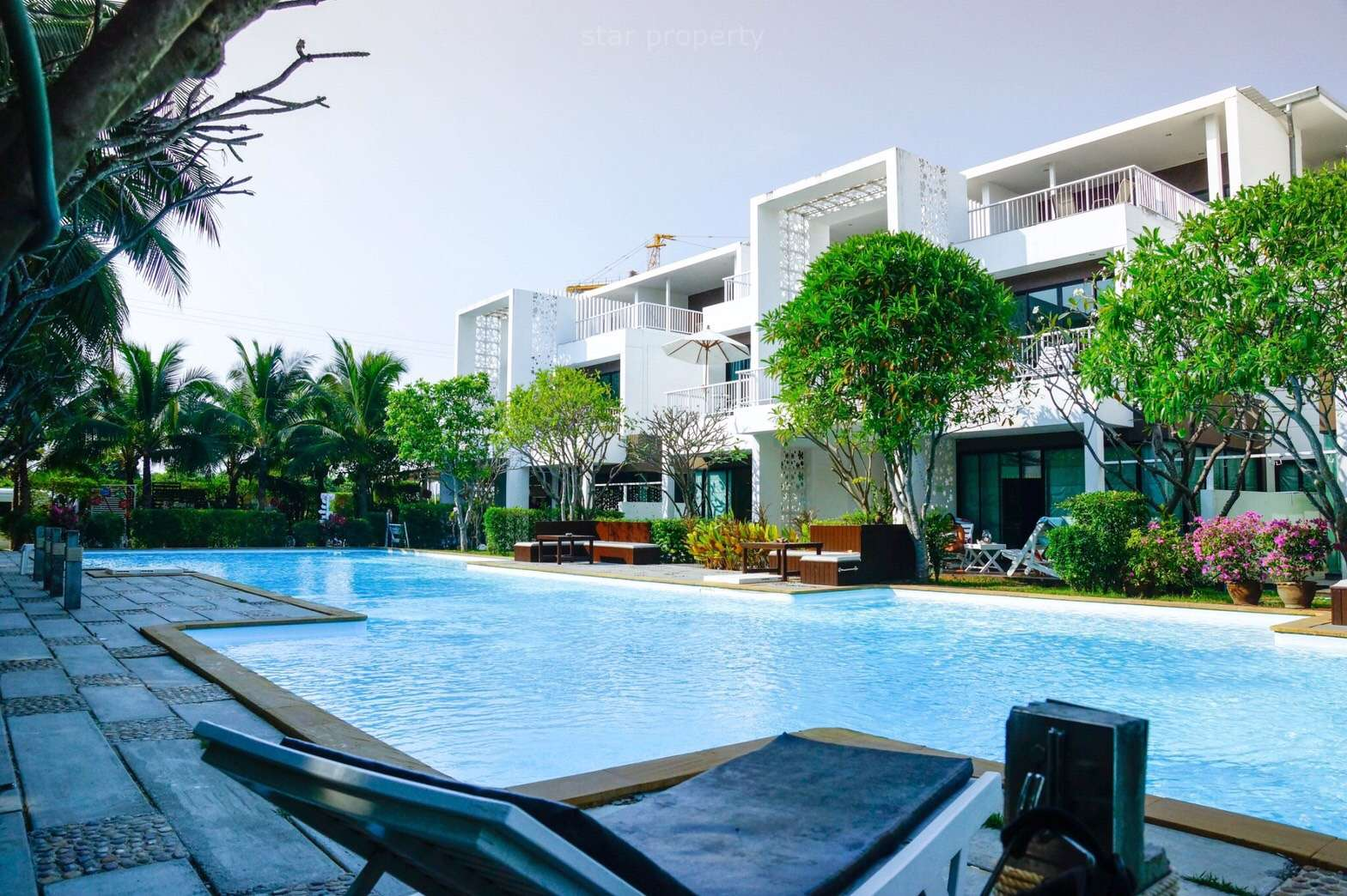 khao takiab beach condo for rent