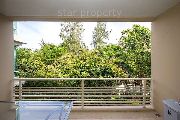 pool view condo for rent near beach hua hin
