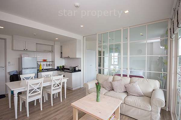 2 Bedroom Khao Takiab Beach condo for rent at Summer Condo