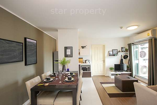 Beach Resort Style Condo for rent at Baan Koo Kiang