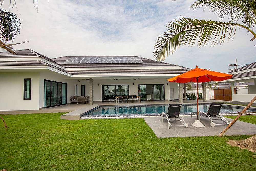 Green Energy New Pool Villa for sale at The Clouds