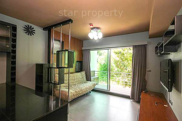 City Center Cozy 1 Bedroom condo for rent at Baan Sanpluem