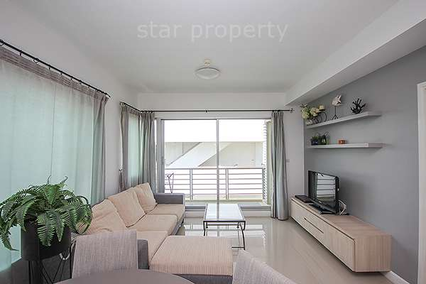 City Center Beautiful 1 Bedroom at Baan Sanpluem