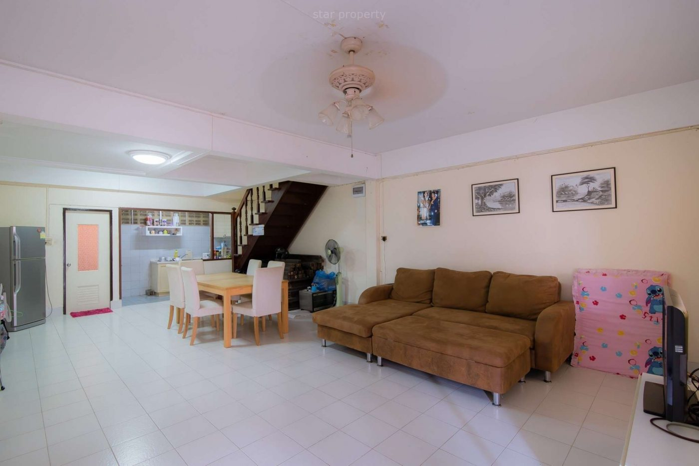 hua hin center 2 bedroom townhouse for rent