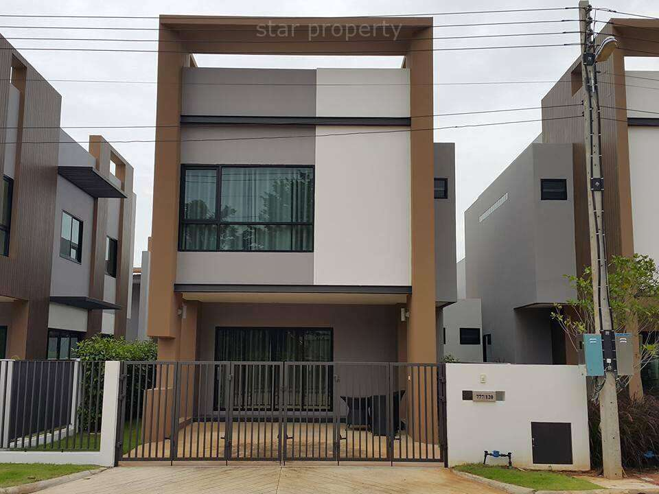 2 Storey House for Rent with Community Pool at The 9 Khao Tao