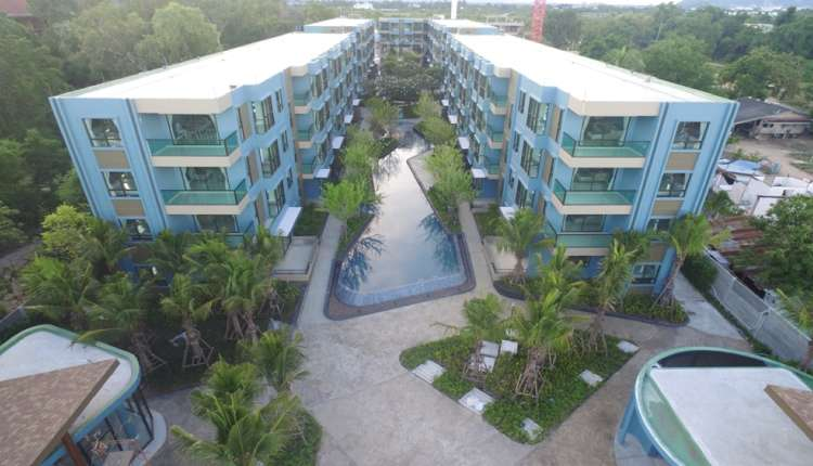 1 bedroom condo with swimming pool