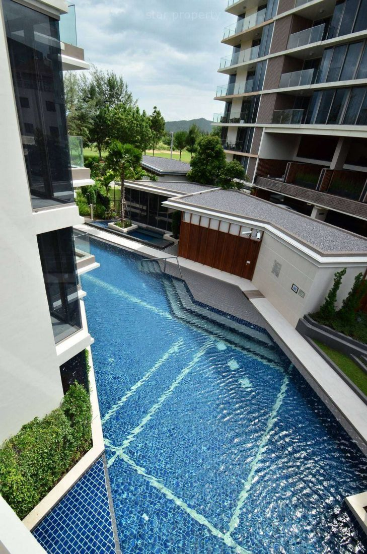condo for rent  with swimming pool gym