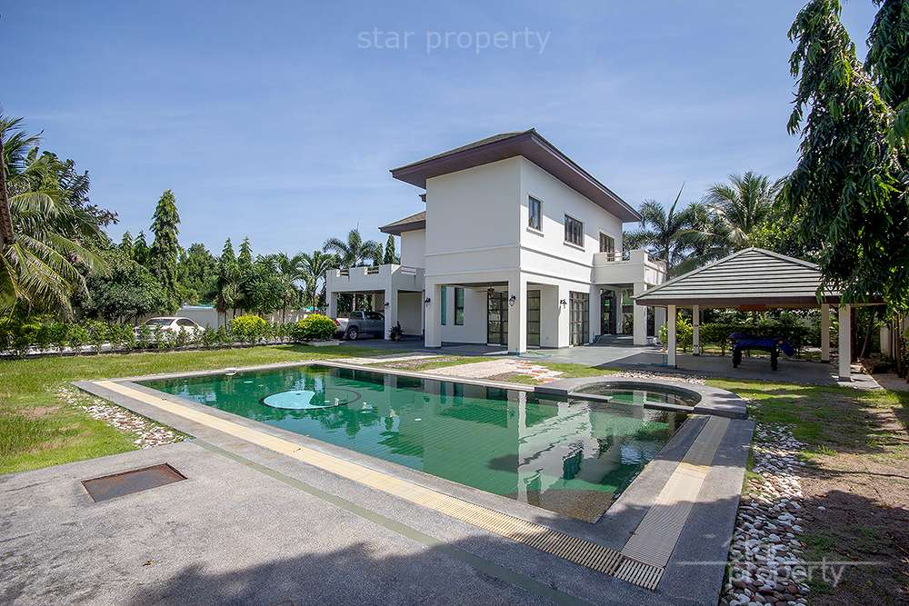 House with Pool for Rent at  Hua Hin Soi 6