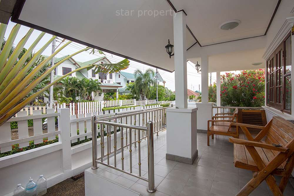 Outside area in nice house