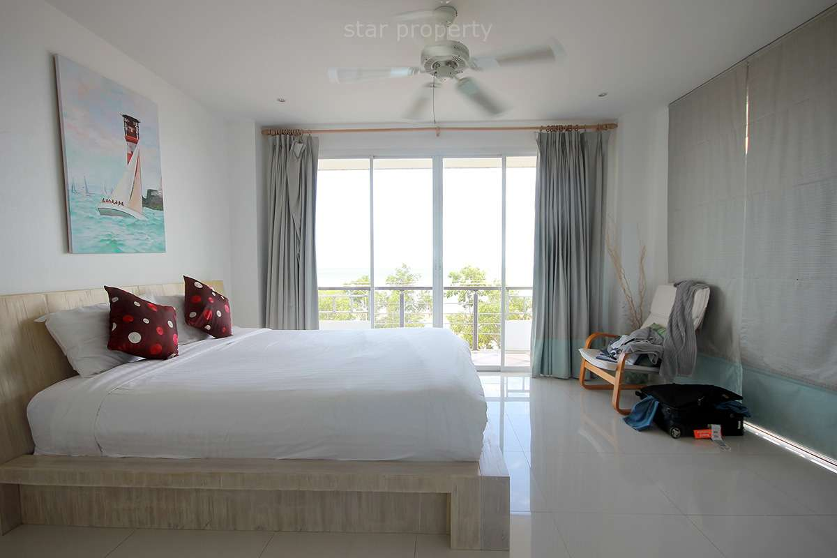European kitchen sea view condo for sale hua hin