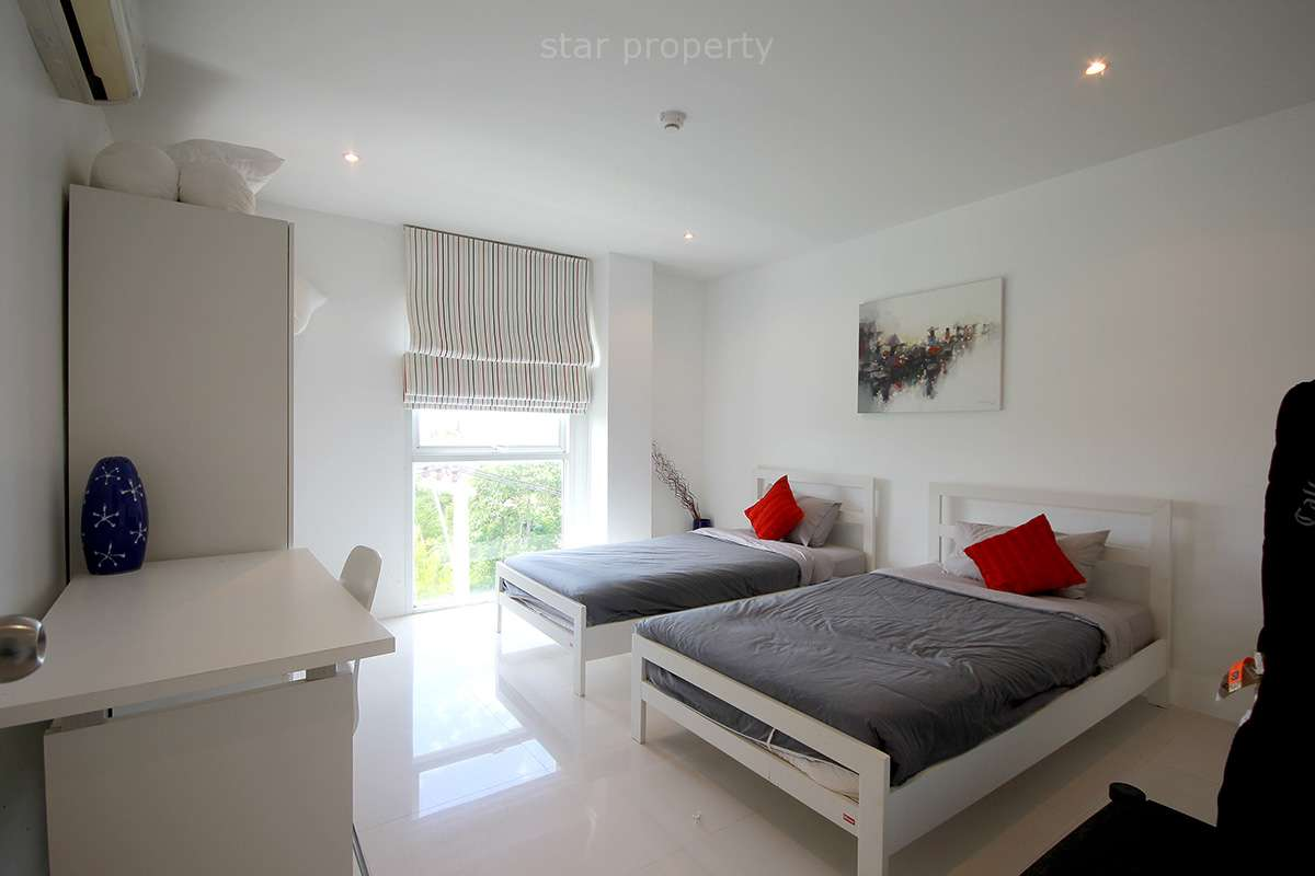 hua hin fully furnished 3 bedroom condo for sale