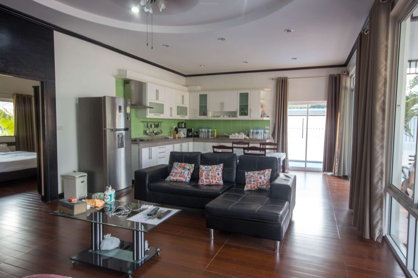 villa for rent Hua Hin with European kitchen
