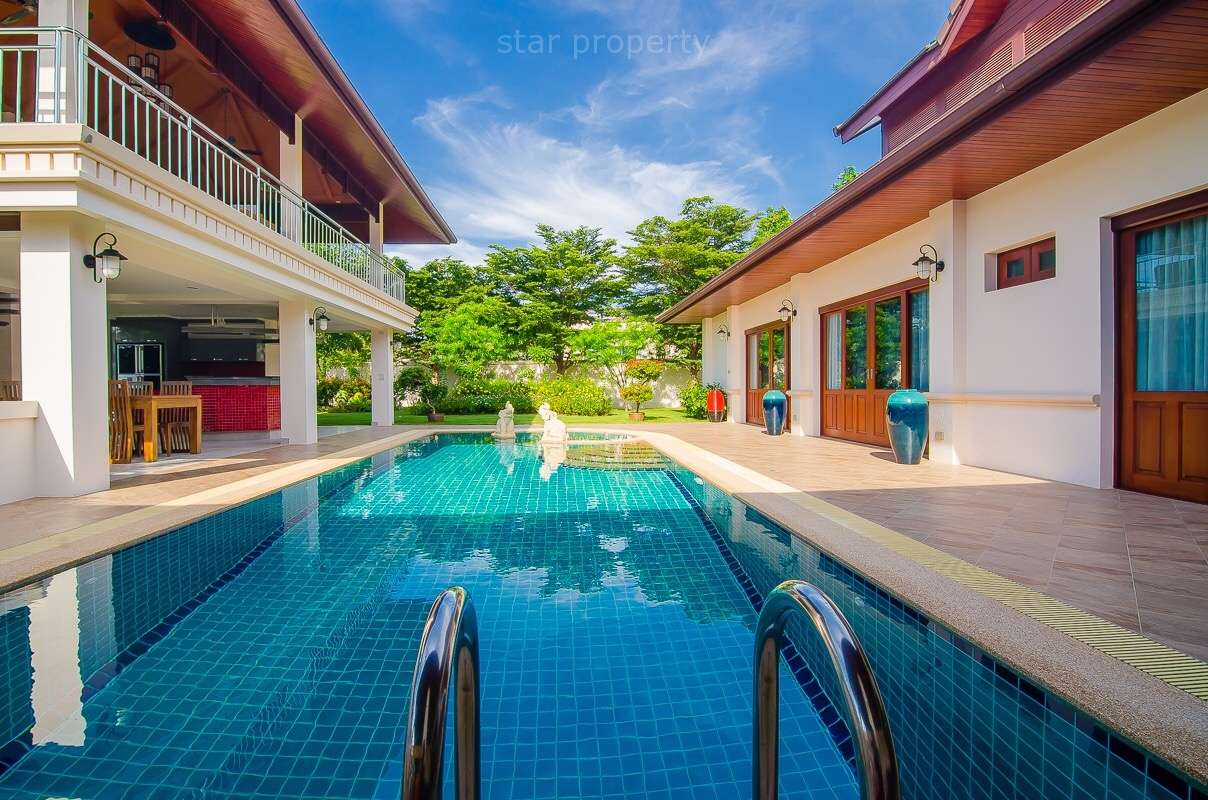 Quality 4 Bed Pool Villa for Rent at Hillside Hamlet