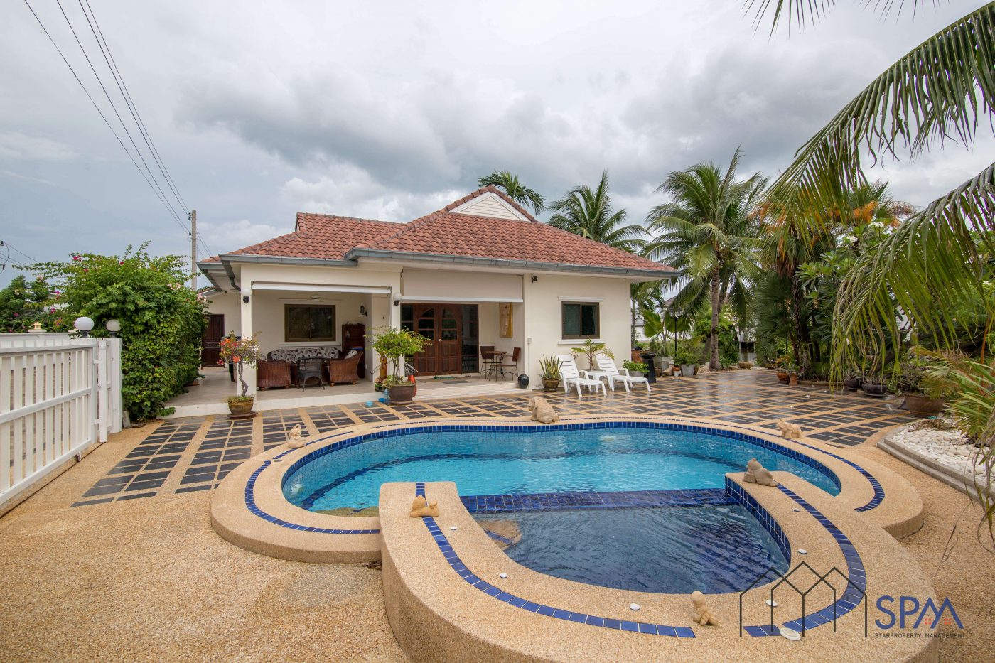 Nice house for rent pool villa hua hin