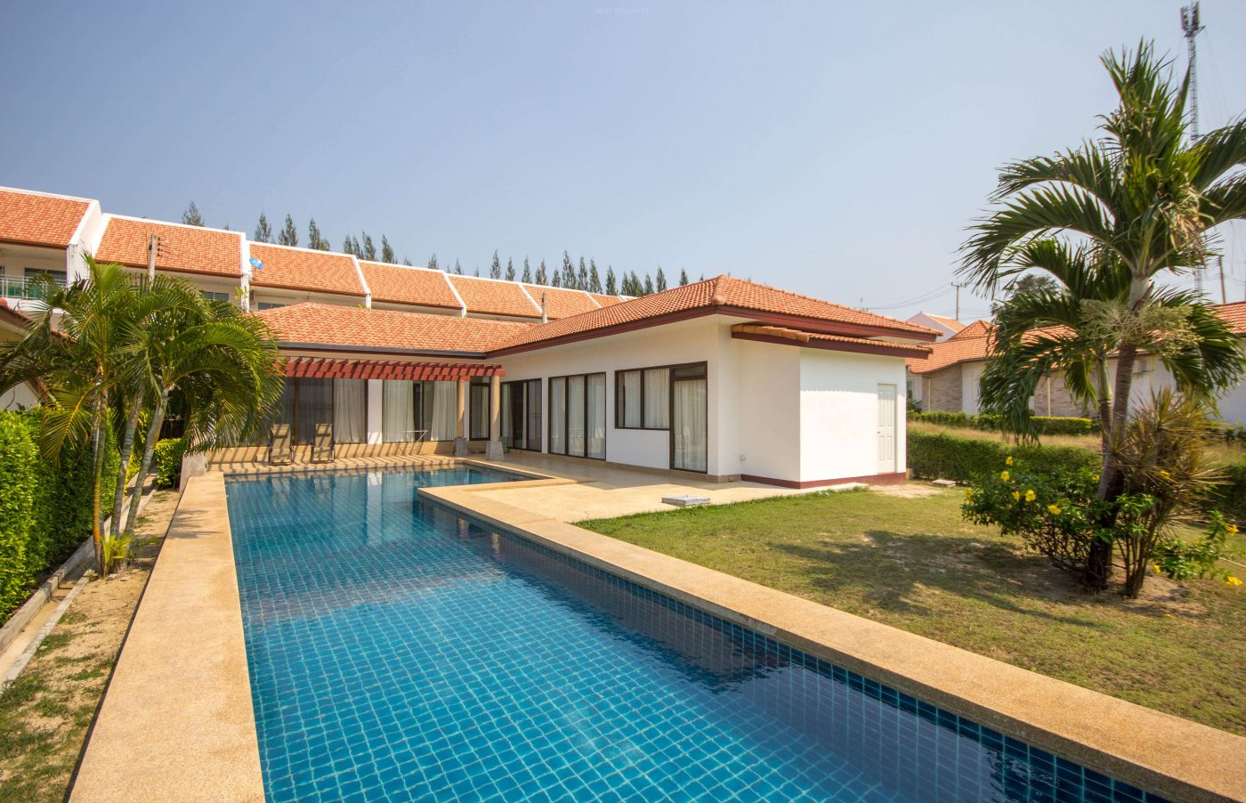 Bungalow for Rent with Private Pool at Black Mountain Golf Course