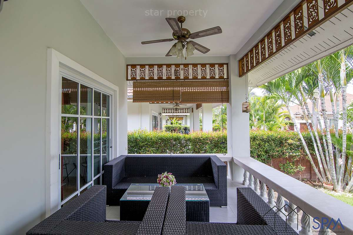 villa with garden for rent hua hin