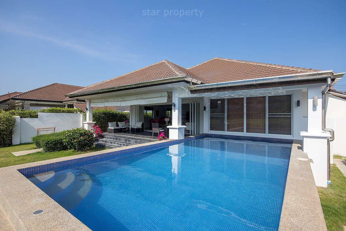3 bedroom charming pool villa for rent