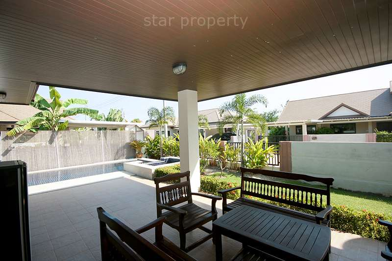 villa for sale hua hin with swimming pool