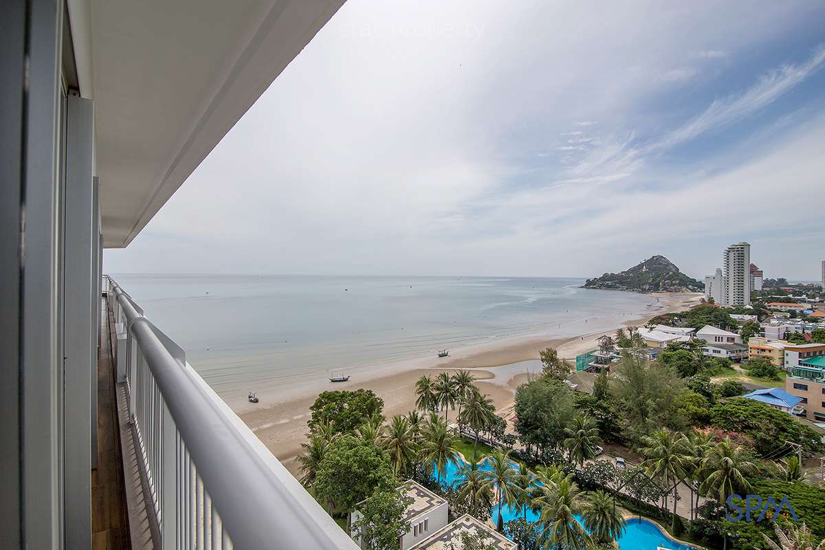sea view balcony condo for sale Hua Hin