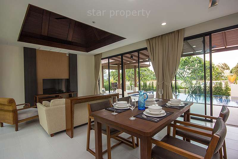 Hua hin 2 bedroom pool villa for rent