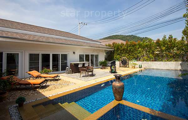 3 Bed Pool Villa in Centeral Hua Hin at Soi 88