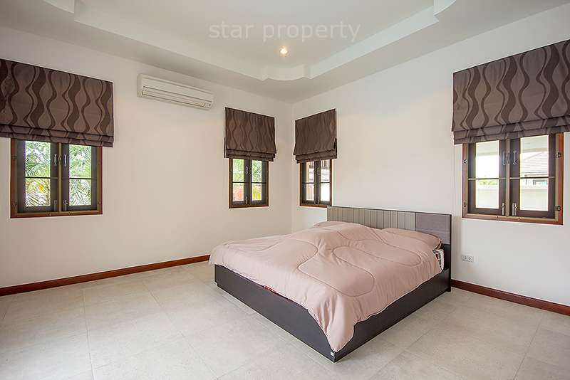 Bedroom nice pool villa for rent