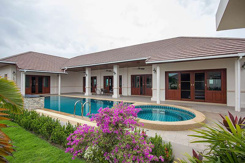 luxury 3 bedroom pool villa for rent hua hin 88