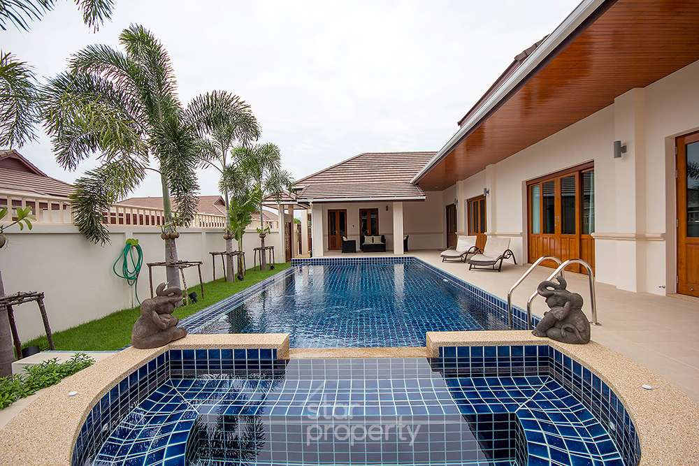 Nice pool villa for rent