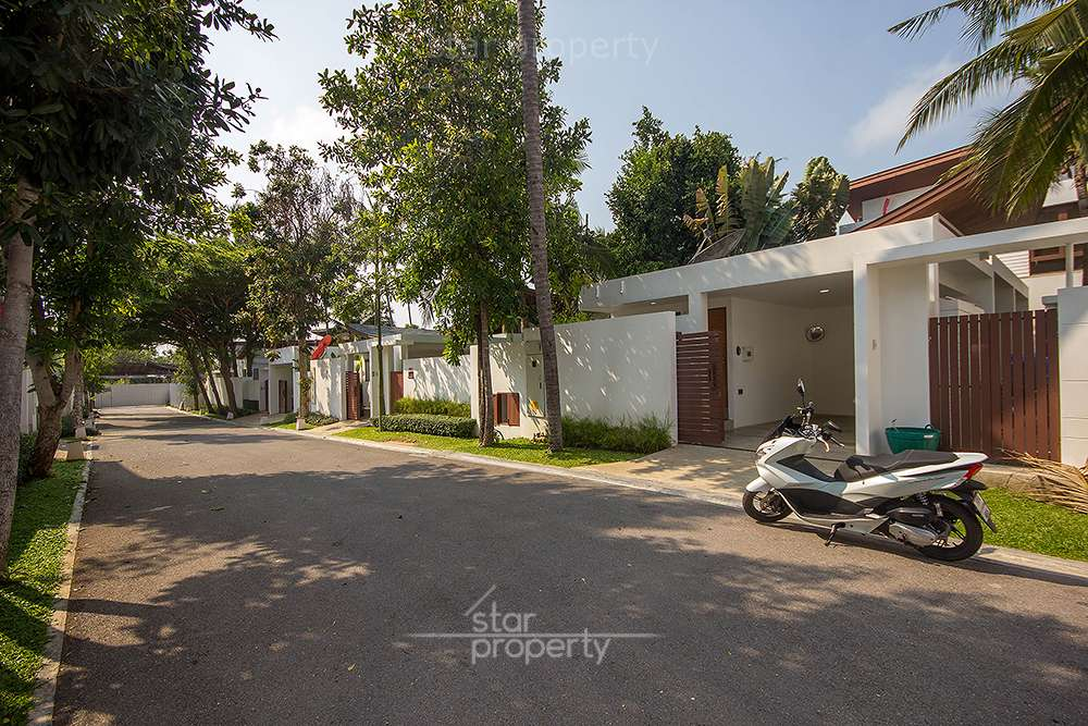 Outside house for rent hua hin