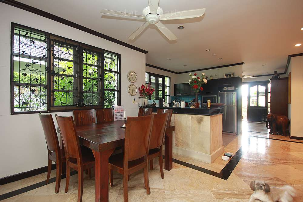 Dining room in nice house