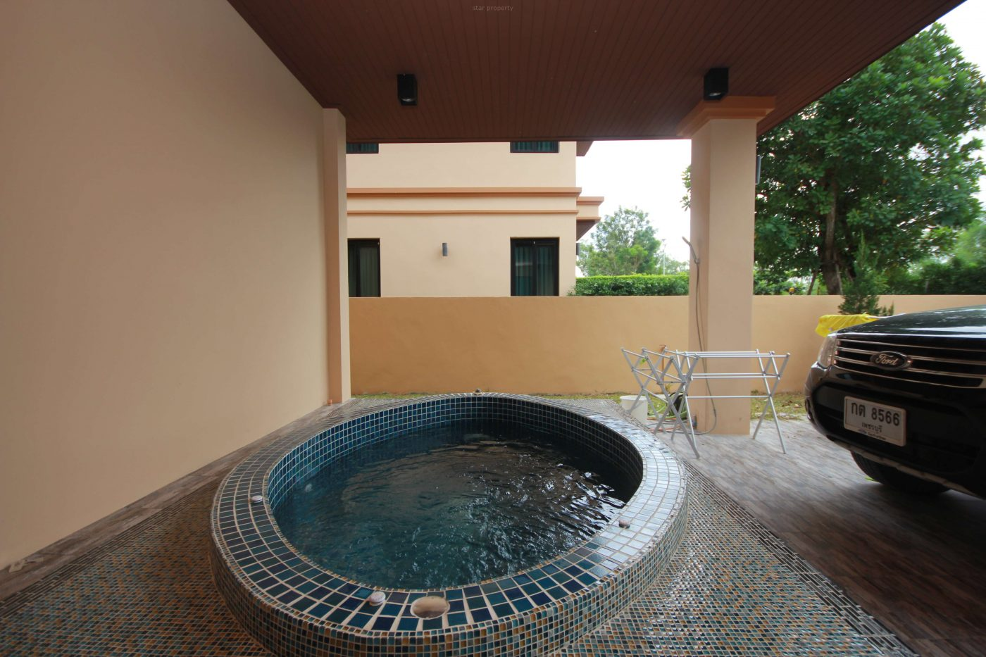 House with garden for rent hua hin