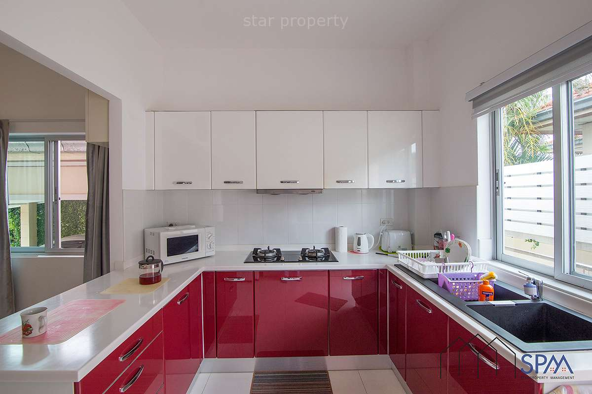 hua hin villa for sale with European kitchen