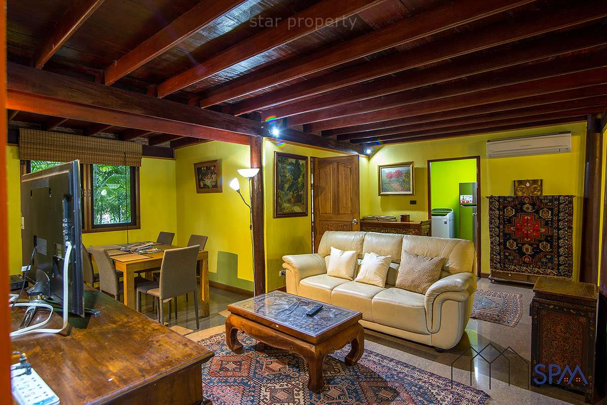 8 Bedroom Thai Style Wooden House for sale at Near Black Mountain Golf Course