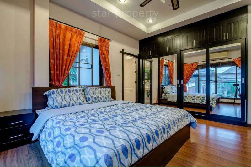 bali style villa for rent Soi 102 hua hin