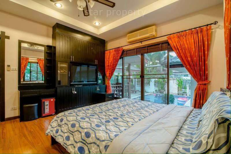 hua hin 3 bedroom villa for rent with pool